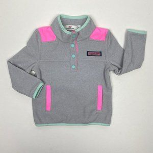 Vineyard Vines Snap Placket Fleece Shep Shirt 2T